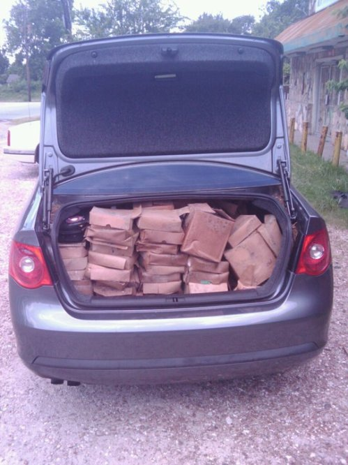 Car load of 45s