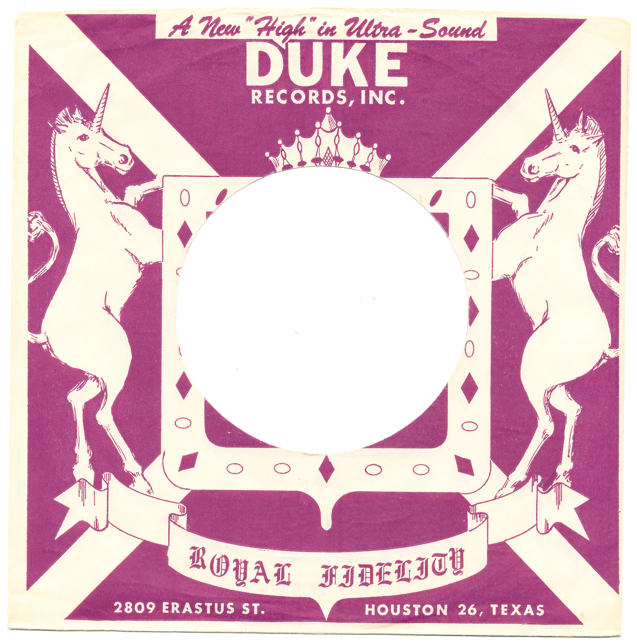 Duke Peacock Back Beat Bayou City Soul