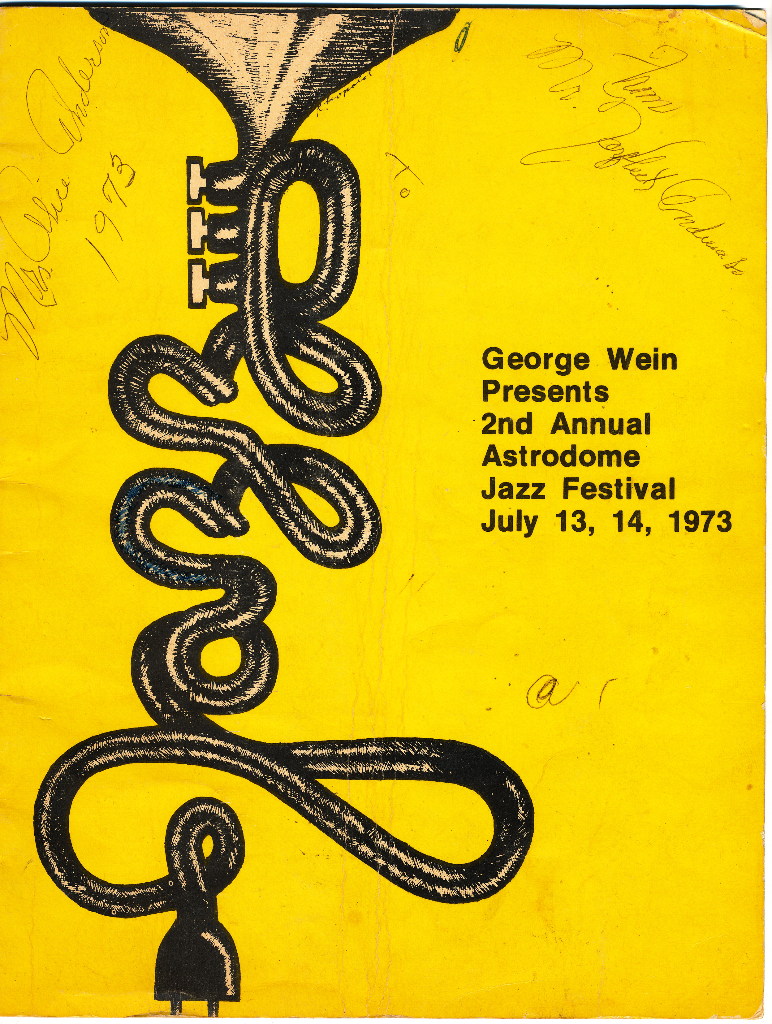 the 2nd annual astrodome jazz festival